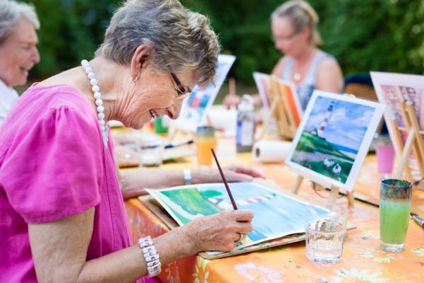 Actividades para personas con Alzheimer - Colorear