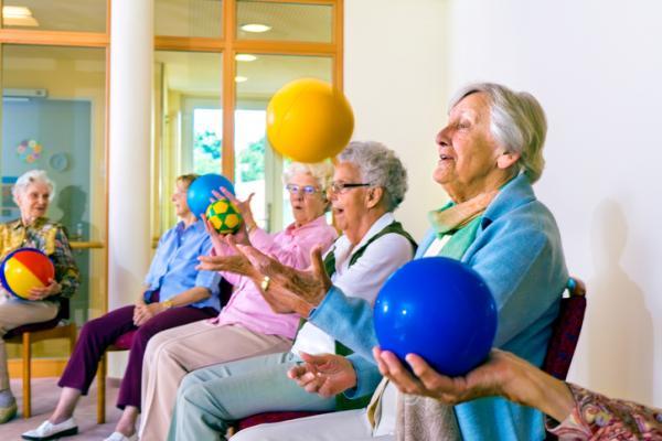 Actividades para personas con Alzheimer - Pelota