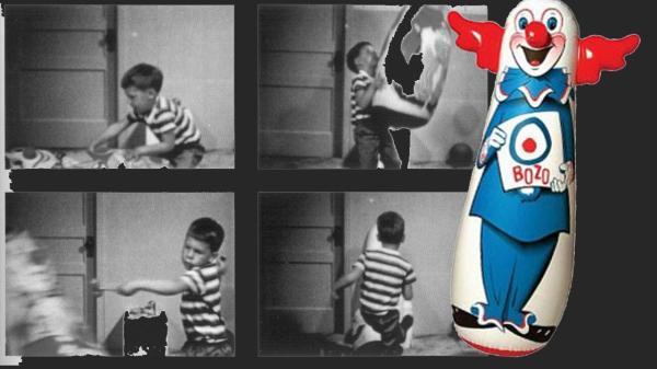 Experimentos psicológicos interesantes - El muñeco Bobo de Bbandura