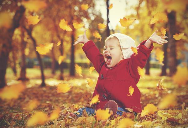 15 ejercicios de relajación para niños - 7. Ejercicios sensoriales para niños