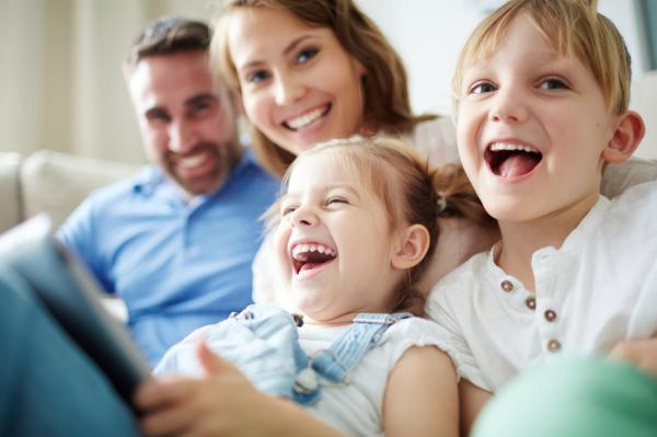 La química emocional entre dos personas - Química emocional en la familia