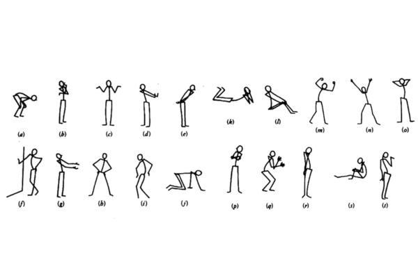 Significado de las posturas corporales - Las posturas reconocidas socialmente