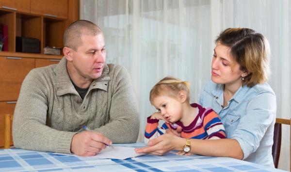 Cómo superar una separación cuando hay hijos