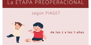La etapa preoperacional según Piaget: características y ejemplos