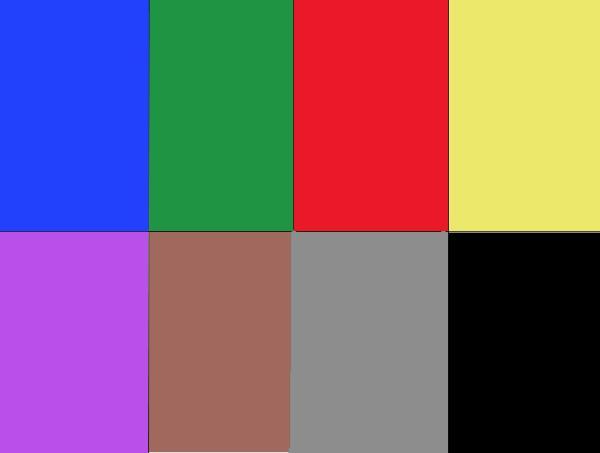 El test de los colores de Lüscher - Cómo realizar el test de Lüscher