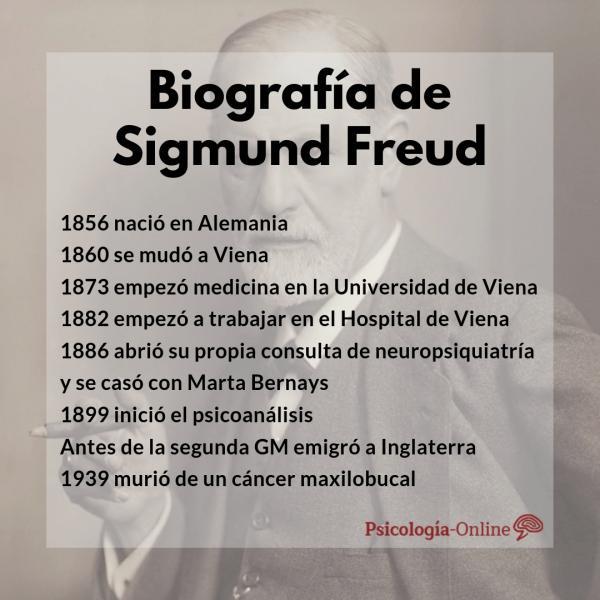 Sigmund Freud: biografía, teoría del psicoanálisis, libros y frases - Biografía de Sigmund Freud resumida (lo más importante)