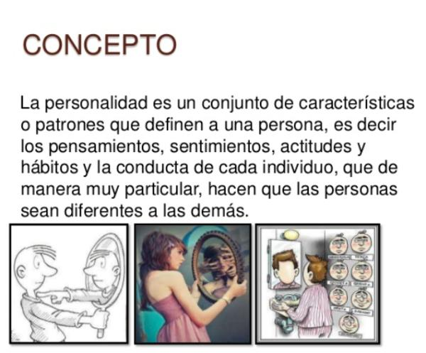 Concepto de personalidad