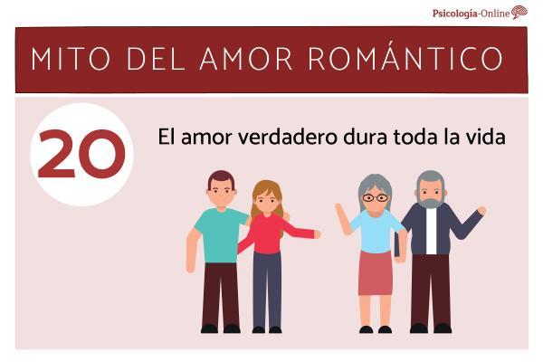 Mitos del amor romántico y la realidad - El amor verdadero dura toda la vida