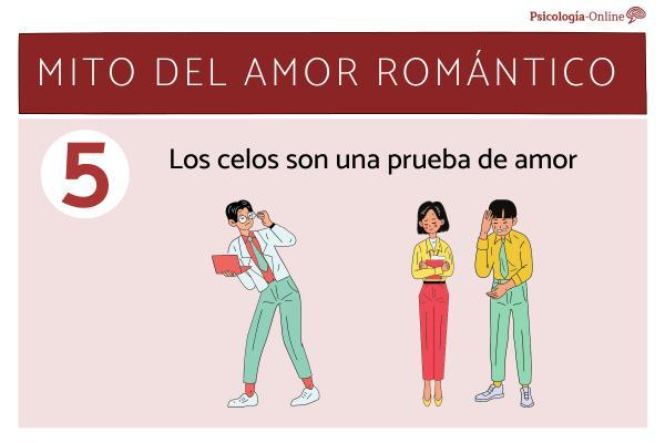 Mitos del amor romántico y la realidad - Los celos son una prueba de amor