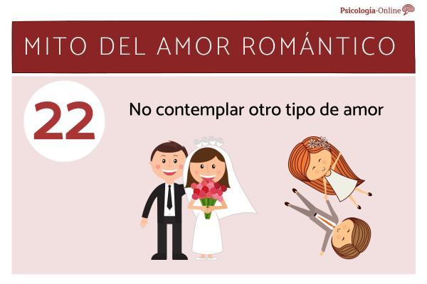 Mitos del amor romántico y la realidad - No contemplar otro tipo de amor