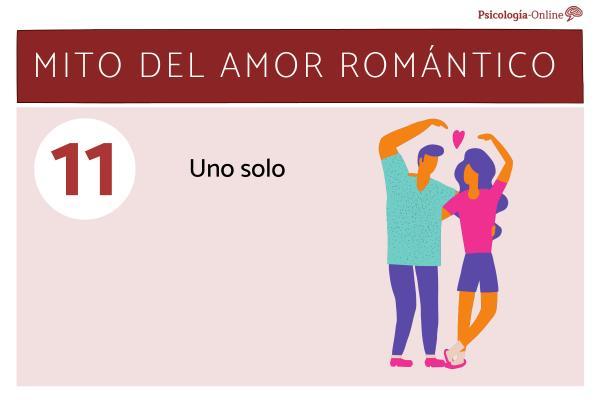Mitos del amor romántico y la realidad - Uno solo