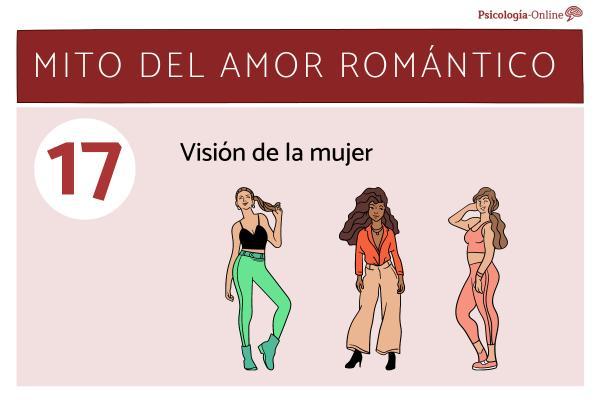 Mitos del amor romántico y la realidad - Visión de la mujer