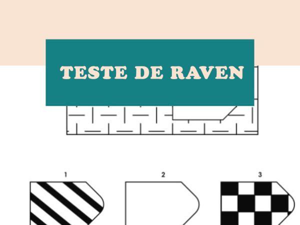Teste de Raven: o que é e como interpretar