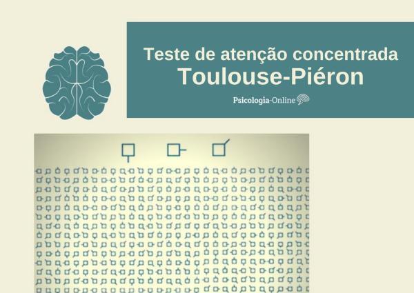 Teste de atenção concentrada Toulouse Piéron