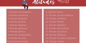 20 tipos de atitudes do ser humano: lista e exemplos