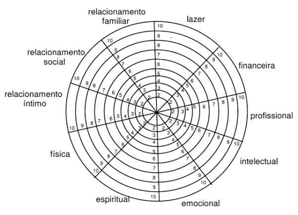 Roda da vida: o que é e para que serve - Para que serve a roda da vida / Roda da vida online