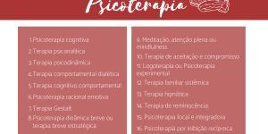 Tipos de psicoterapia: técnicas e métodos